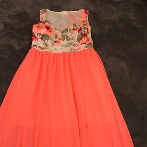 Neon a'gaci maxi dress